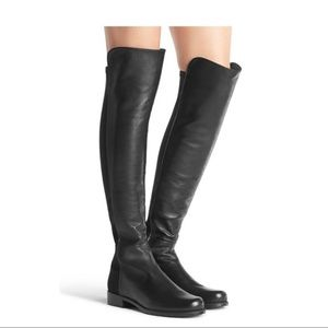 Stuart Weitzman | 5050 Leather Over The Knee Boots